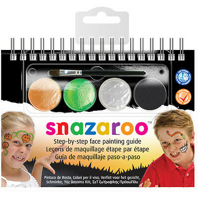 Snazaroo Step-By-Step Face Painting Kit-Halloween