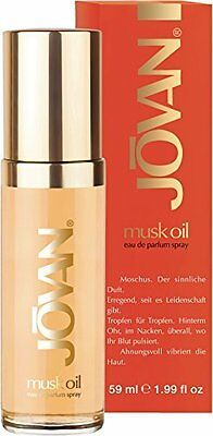 Jovan Musk Oil Eau De Parfum Spray For Women - Floral Fragrance 1.99 oz