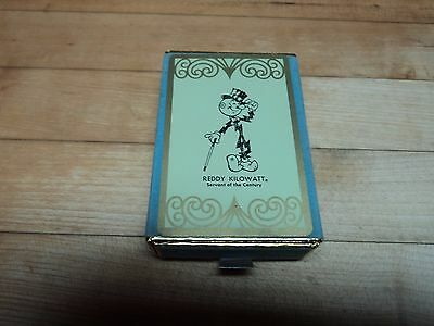 "Reddy Kilowatt ""Servant of the Century"" Playing Cards"