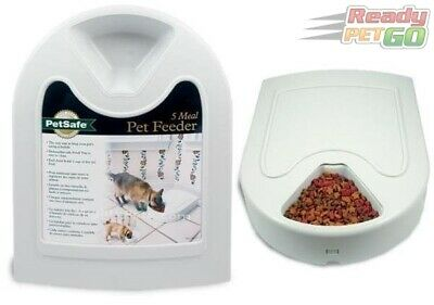 Petsafe Automatic 5 Meal Pet Feeder for Dog & Cat, Auto Portion Food Dispenser