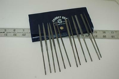 Needle File Set Grobet Cut 4  12 Piece 31.677 Aviation Tool Jewelry