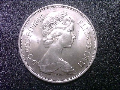 Great   Britain   10   Pence   1969   Nice  Coin