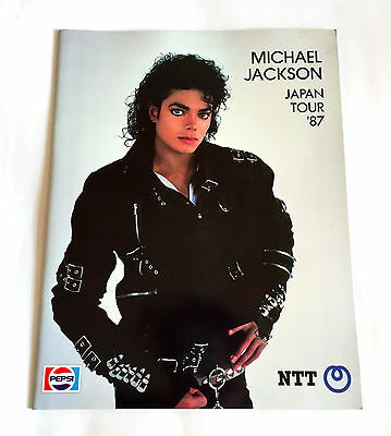 Michael Jackson Japan Tour 1987 Concert Program Book