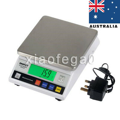Precision Scale - 7500g / 0,1g Laboratory Digital Analytical Weighing Balance AU