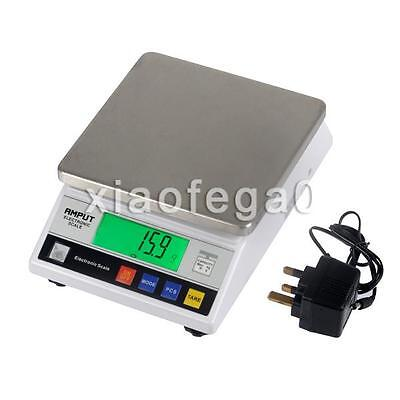 Precision Scale - 7500g / 0,1g Laboratory Digital Analytical Weighing Balance UK