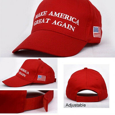 2016 Make America Great Again Hat Donald Trump Republican Adjustable Mesh Cap H