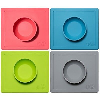 EZPZ - The Happy Bowl - Placemat & Bowl in One + Suction -  Choose Color