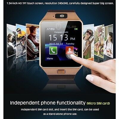Buyee Telefono Reloj Inteligente Bluetooth SmartWatch para Android IOS TF SIM