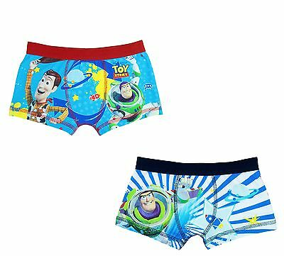 Pack of 2 Boys Toy Story Boxer Shorts - Age 3-7 Years