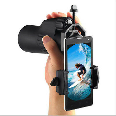Spotting Scope Mobile Phone Holder Cell Phone Adapter Telescope Video Camera