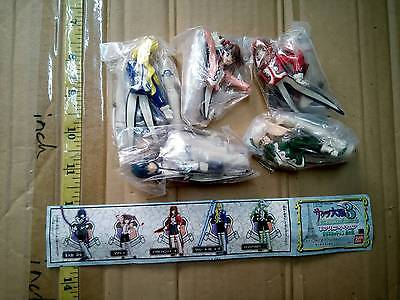 Bandai Sakura wars 3 game mini figure gashapon x5