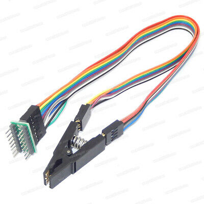 IC Test Clip with SPI Cable For SOIC16 SOP Flash Chip Test Clip SOIC16 SOP16