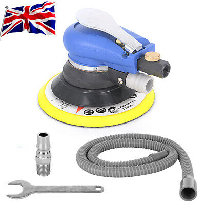 "6"" Air Random Orbital Palm Sander 150mm Dual Action Auto Pneumatic Sanding Tool"
