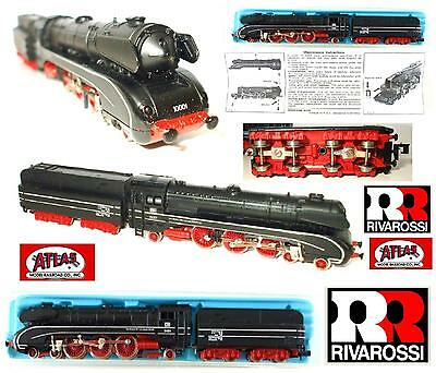 RIVAROSSI By ATLAS 2193 VINTAGE LOCOMOTIVA a VAPORE 4-6-2 DB 10001 BOX SCALA-N