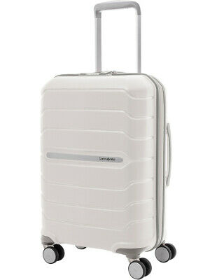 NEW Samsonite Octolite Hardside Spinner Case Small 55cm White 2.4kg