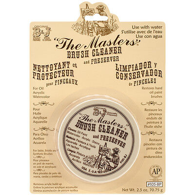 The Master's Brush Cleaner & Preserver -2.5oz