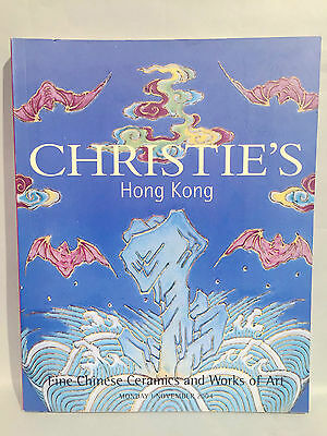 2004 Nov Christie's Catalog Fine Chinese Ceramics and Works of Art Hong Kong