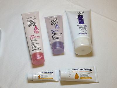 lot of Skin So Soft & Moisture Therapy age defying replenishing body hand NOS;;