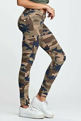 Freddy Wr.up® Shaping Effect Push Up Pant - Low Waist, Skinny Fit - Camouflage