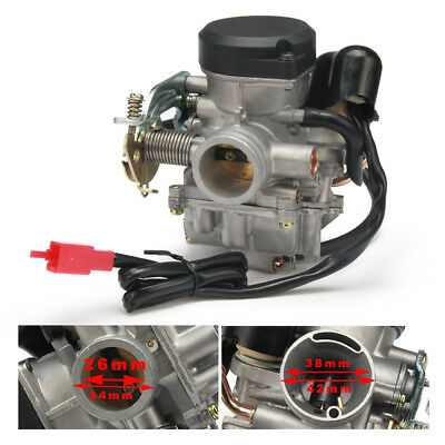 26mm CVK26 Carb Carburetor Replace Keihin For GY6 150- 250CC Motorcycle Scooter