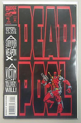 Deadpool The Circle Chase #1 1st App. Slayback VF Ryan Reynolds Marvel Comics