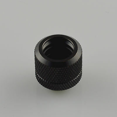 Olike 14MM G1/4 coupling fitting for OD 14MM Rigid tubing water cooling Black