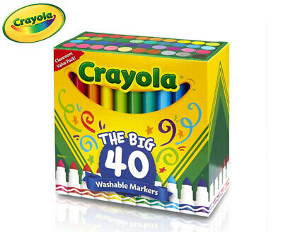 Crayola The Big 40 Washable Markers 40-Pack