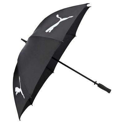 "NEW Puma Golf 54"" Single Canopy Umbrella for Bag Black & White"