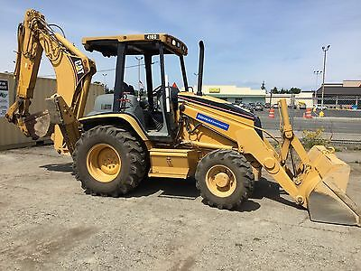 2004 Cat 416 Backhoe Loader