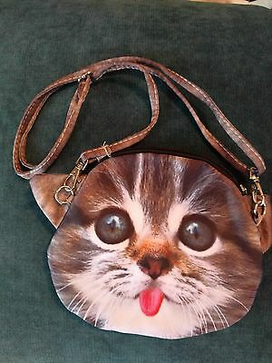 Small Cat Face Purse