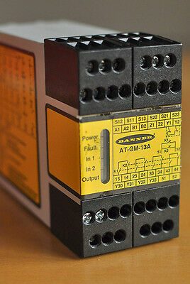 Banner Engineering AT-GM-13A Anti-tie-down Safety Relay