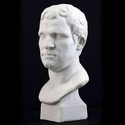 Plaster Cast Mini Head Of Caesar