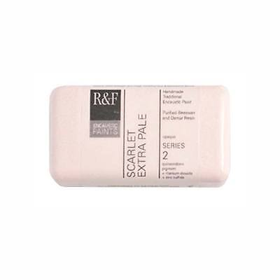 R&F Encaustic 40Ml Scarlet Extra Pale