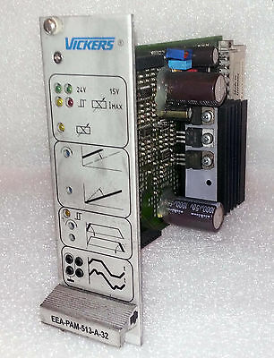 1 Used Vickers Eea-Pam-513-A-32 Control Board ***make Offer***