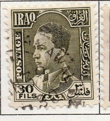 Iraq 1934 early Issue Fine Used 30f. 139236