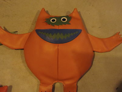 1960's Nauga Naugahyde Monsters  ORANGE ?