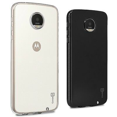 CoverON for Motorola Moto Z Play Droid Case Slim TPU Thin Soft Phone Cover