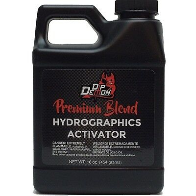 Dip Demon® Premilum Blend Hydrographic Hydro water transfer Activator 16oz Pint