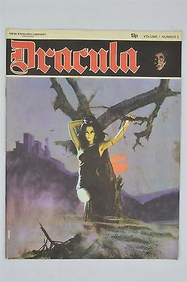 Dracula Vol 1 #5 1971 Vintage Magazine Horror Comic New English Library Buru Lan