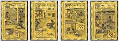 Timbres Ste Lucie 680/3 ** lot 19215