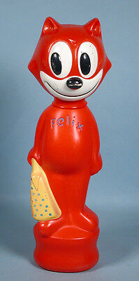 1960s Felix the Cat Soaky Figural Soap Container Toy IMCO Colgate Palmolive