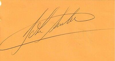 John Surtees Signed Autograph