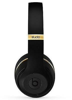 Beats By Dre Studio 2.0 Wireless Over Ear Headphones Black-Gold Refurbished