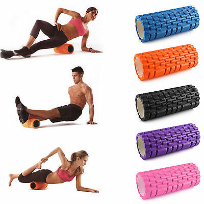 Trigger Point Foam Roller For Massage Yoga Pilates Rehab Crossfit Therapy Injury