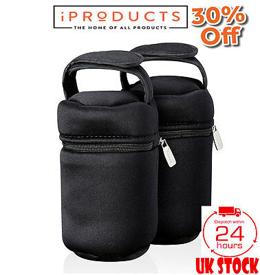 Tommee Tippee Closer to Nature Insulated Bottle Bags x 2