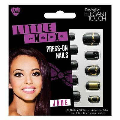 ELEGANT TOUCH Little Mix 24 press on false nails in Jade