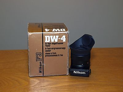 NIKON DW-4 in Box DW4 6X High Magnification Finder Viewfinder