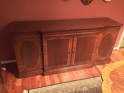 Mahogany Sideboard Buffet by Baker Furniture - Historic Charleston