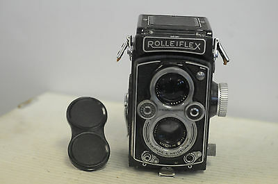 Rolleiflex 3.5 MX EVS Automat ( K4B ) Tessar Type 1 with Cap TLR Camera