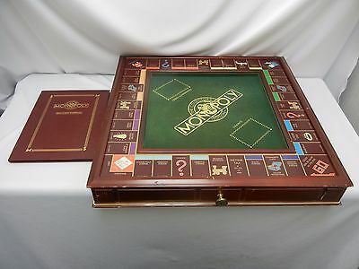 Franklin Mint The Collectors Edition Monopoly Board Game